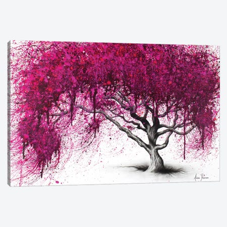 Pink Plum Park Canvas Print #VIN217} by Ashvin Harrison Canvas Print