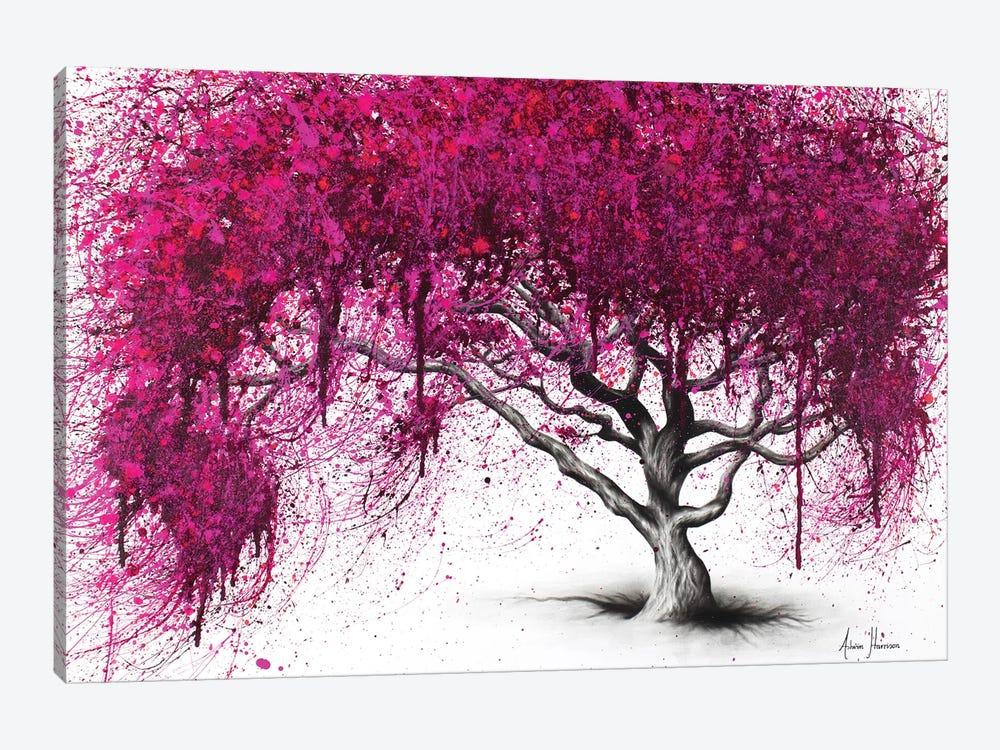 Pink Plum Park by Ashvin Harrison 1-piece Art Print