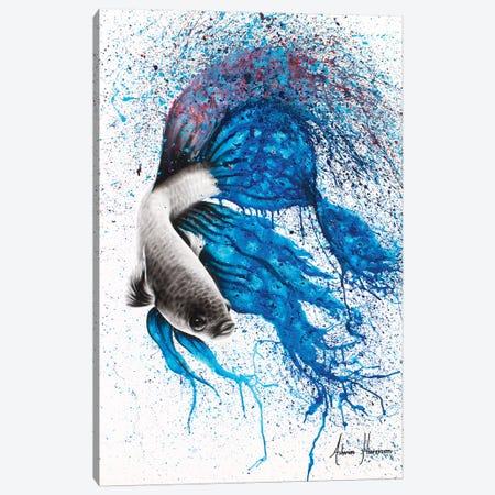 Dancing Gourami Canvas Print #VIN21} by Ashvin Harrison Canvas Print