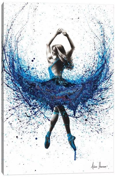 Western Sea Dance Canvas Art Print