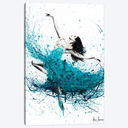 Ballerina Waves Canvas Print #VIN223} by Ashvin Harrison Canvas Print