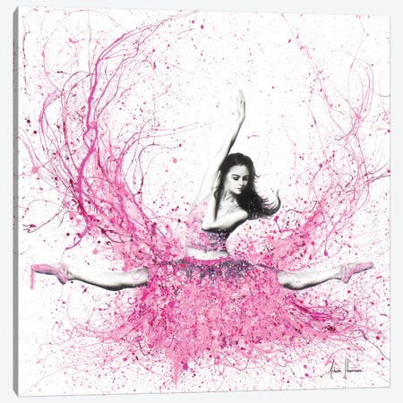 Blossom Ballet Canvas Print #VIN224} by Ashvin Harrison Canvas Wall Art