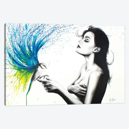 Freedom With Bird Canvas Print #VIN232} by Ashvin Harrison Canvas Artwork