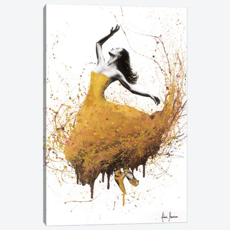 Golden Gravity Ballet Canvas Print #VIN233} by Ashvin Harrison Canvas Art