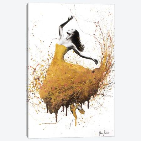 Golden Gravity Ballet Canvas Print #VIN233} by Ashvin Harrison Canvas Art