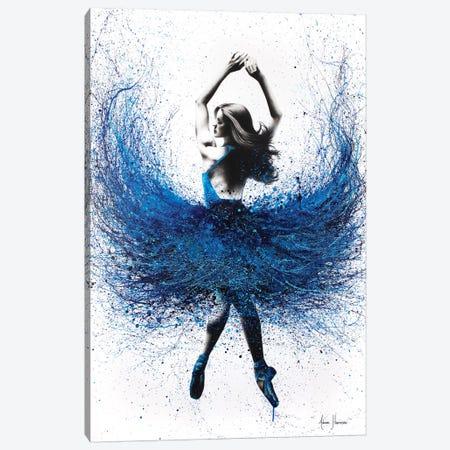 Grace Ballerina Canvas Print #VIN234} by Ashvin Harrison Canvas Art Print