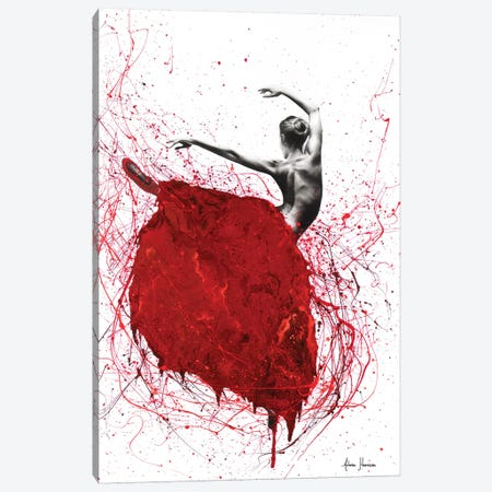 Red Opal Dance Ballet Canvas Print #VIN248} by Ashvin Harrison Art Print