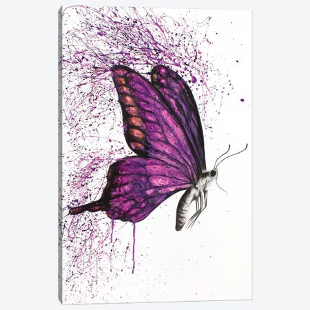 Song Of A Butterfly Canvas Print #VIN252} by Ashvin Harrison Canvas Artwork