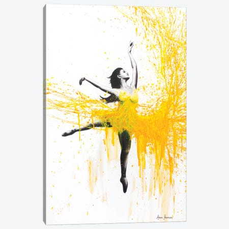 Sunflower Dance Canvas Print #VIN253} by Ashvin Harrison Canvas Art