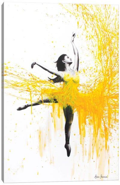 Sunflower Dance Canvas Art Print