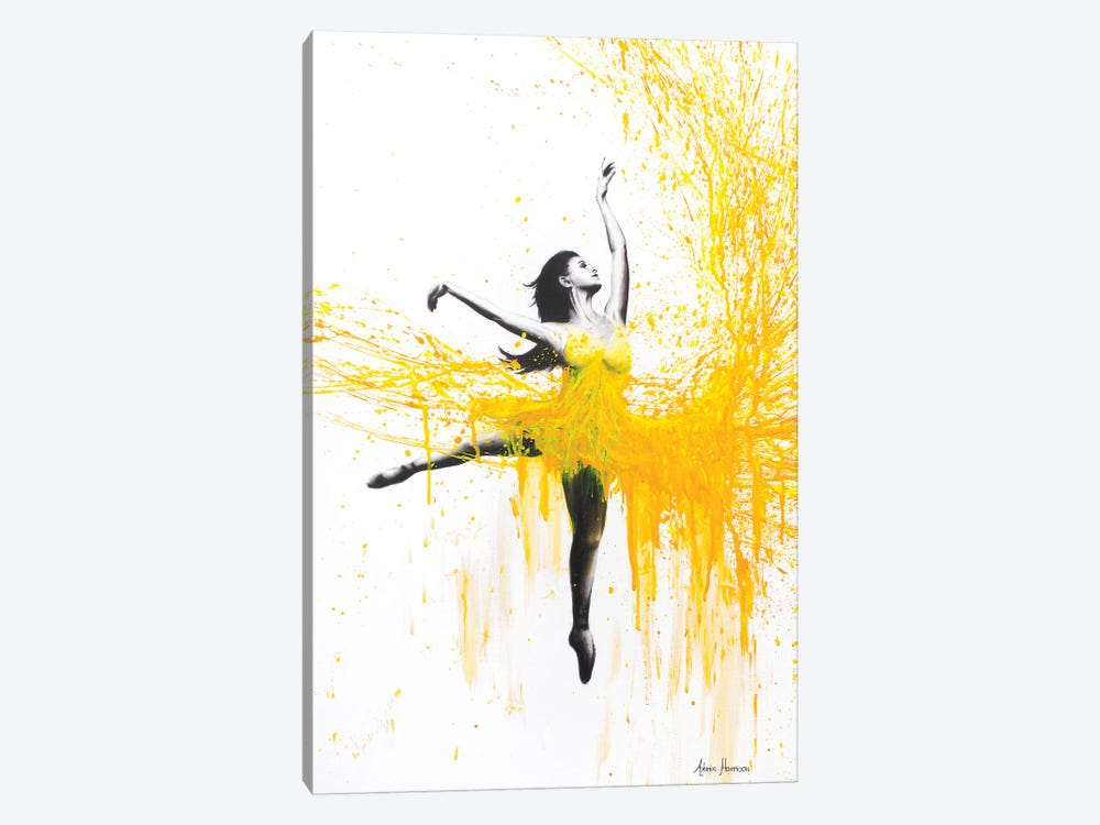 Sunflower Dance by Ashvin Harrison 1-piece Art Print