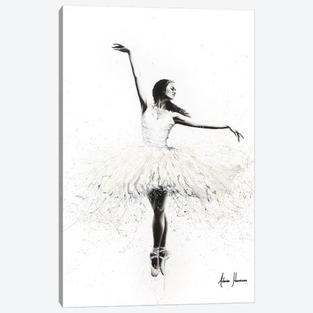 The White Swan Canvas Print #VIN262} by Ashvin Harrison Canvas Art Print
