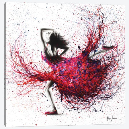 Western Sunset Dancer Canvas Print #VIN265} by Ashvin Harrison Canvas Wall Art