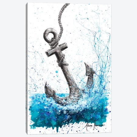 Drift and Anchor Canvas Print #VIN273} by Ashvin Harrison Canvas Wall Art