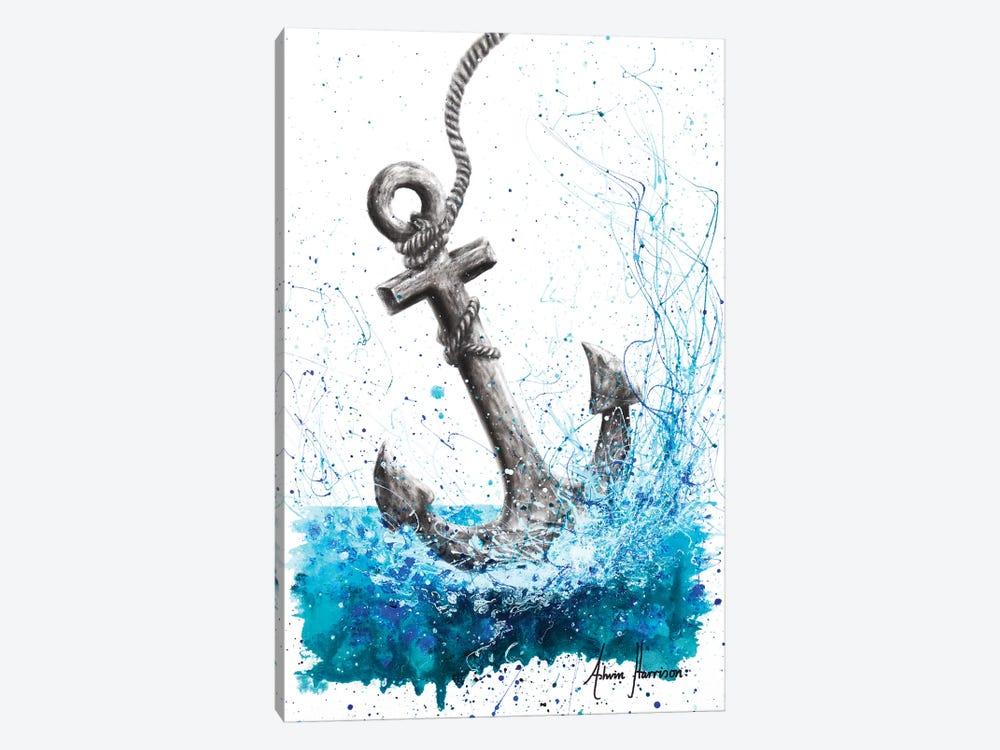 Drift and Anchor by Ashvin Harrison 1-piece Canvas Art Print