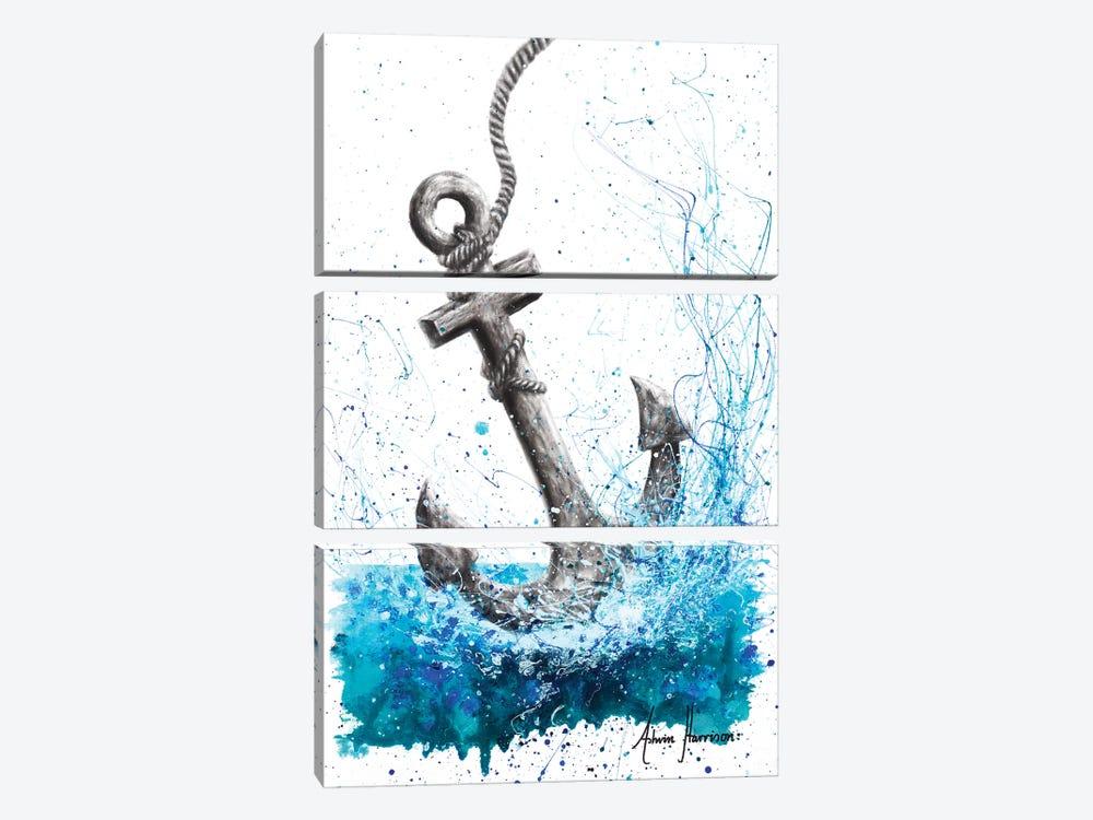 Drift and Anchor by Ashvin Harrison 3-piece Canvas Print