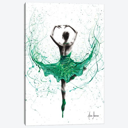 Emerald City Dancer 3-Piece Canvas #VIN274} by Ashvin Harrison Canvas Print