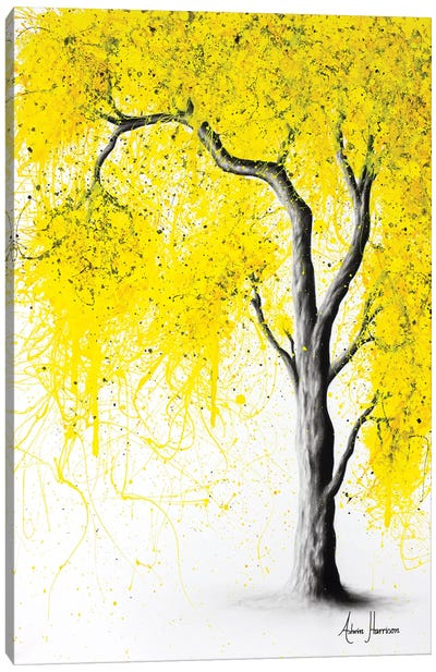Fall Tree Trios Canvas Art Print