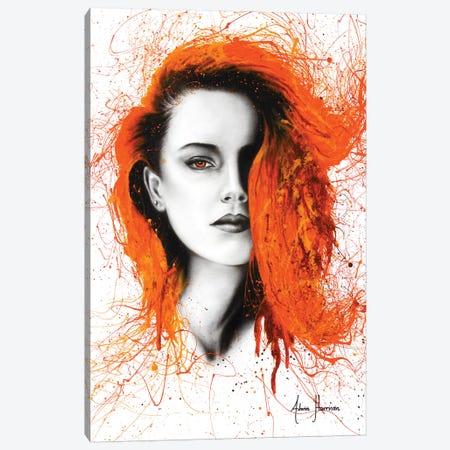 Heated Heart Canvas Print #VIN278} by Ashvin Harrison Canvas Wall Art