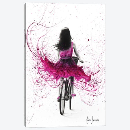Quintessential Cycle Canvas Print #VIN286} by Ashvin Harrison Canvas Art