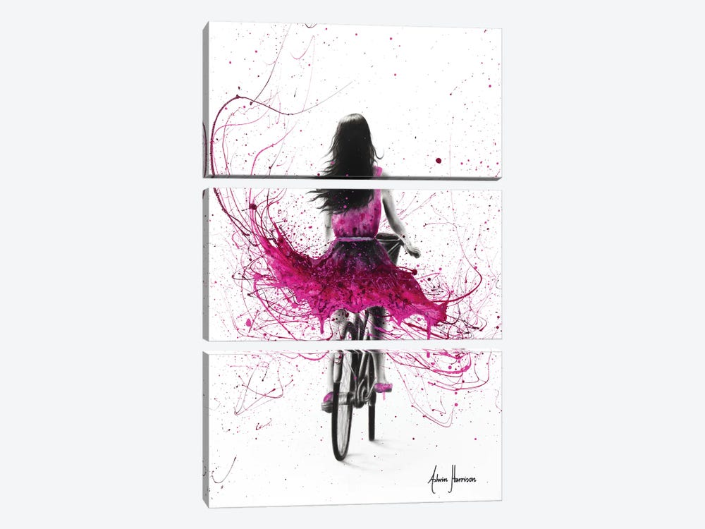 Quintessential Cycle by Ashvin Harrison 3-piece Canvas Print