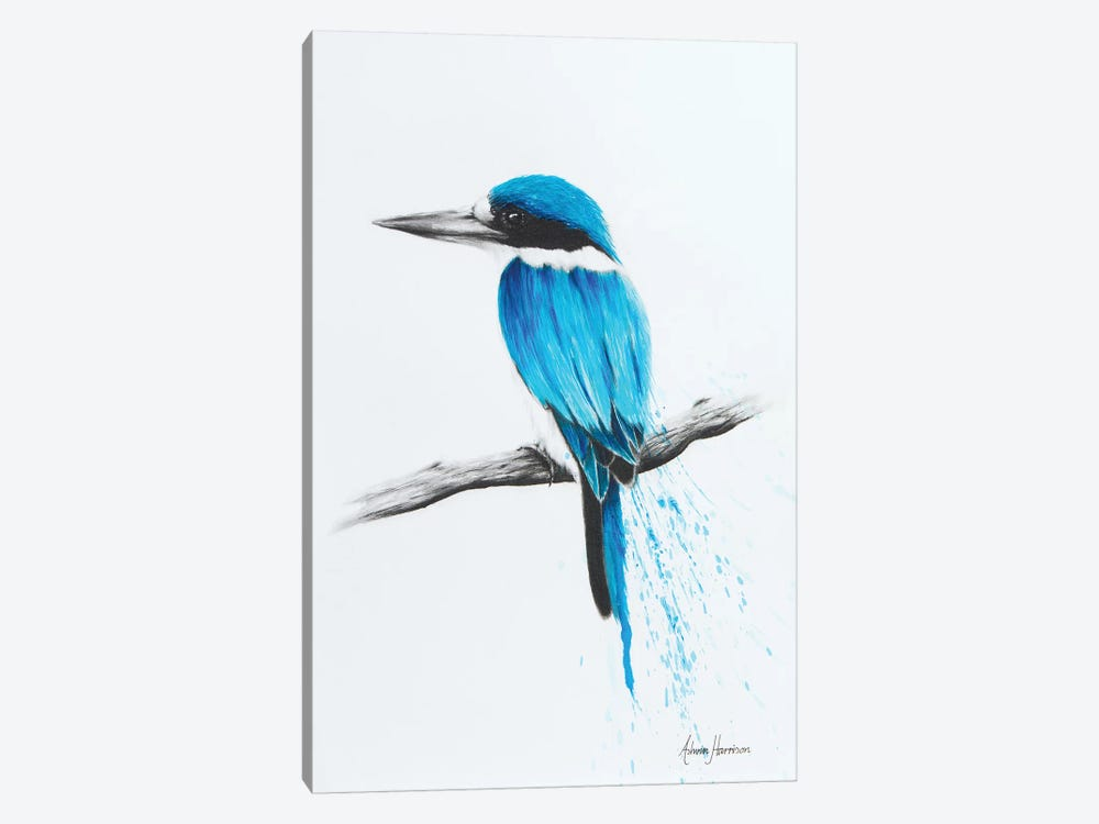 Feathered Friend by Ashvin Harrison 1-piece Art Print