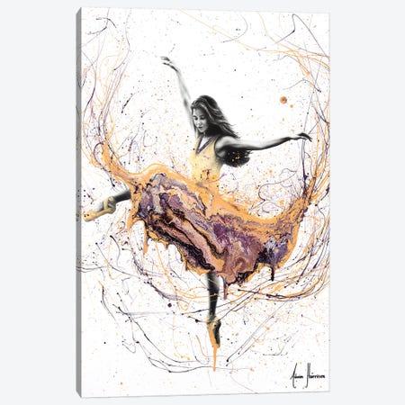 Violetta Ballerina Canvas Print #VIN292} by Ashvin Harrison Canvas Artwork