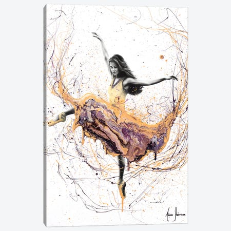 Violetta Ballerina Canvas Print #VIN292} by Ashvin Harrison Canvas Artwork