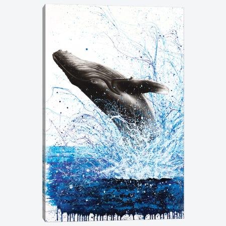 Whale Waves Canvas Print #VIN294} by Ashvin Harrison Canvas Print