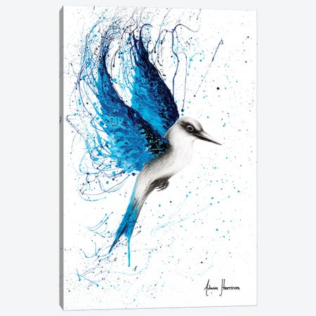 Aussie Blue 3-Piece Canvas #VIN296} by Ashvin Harrison Art Print