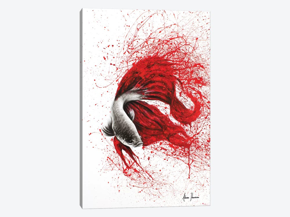 Fire Dance Fish by Ashvin Harrison 1-piece Canvas Art