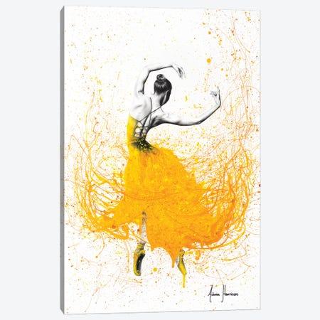 Daisy Dance 3-Piece Canvas #VIN301} by Ashvin Harrison Canvas Artwork