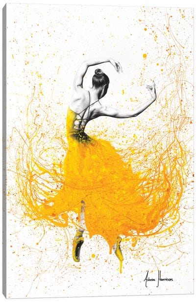 Daisy Dance Canvas Art Print