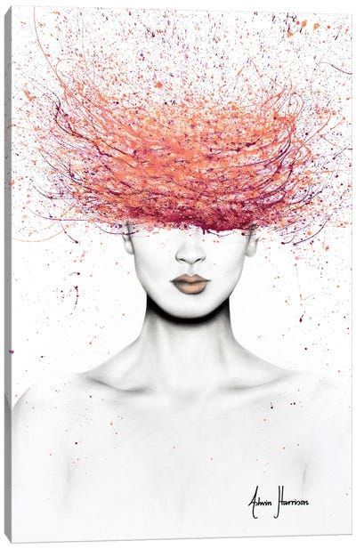 My Modern Mind Canvas Art Print