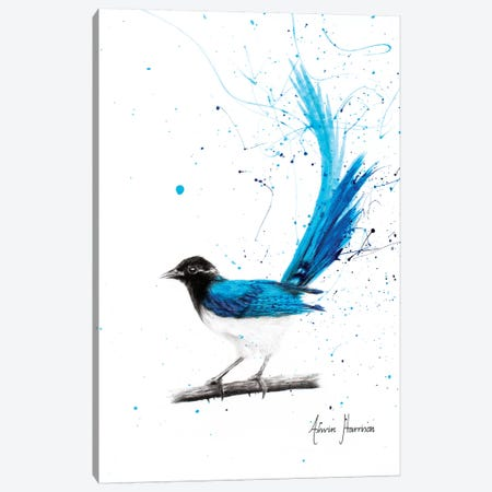 Peaceful Thinker Canvas Print #VIN312} by Ashvin Harrison Canvas Print