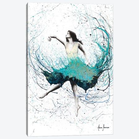 Sky Opal Dancer 3-Piece Canvas #VIN313} by Ashvin Harrison Canvas Art Print