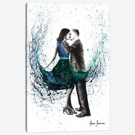The First Kiss Canvas Print #VIN315} by Ashvin Harrison Canvas Wall Art