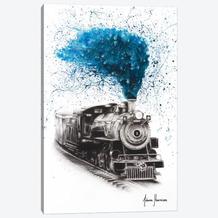 Time Voyager Canvas Print #VIN317} by Ashvin Harrison Canvas Art