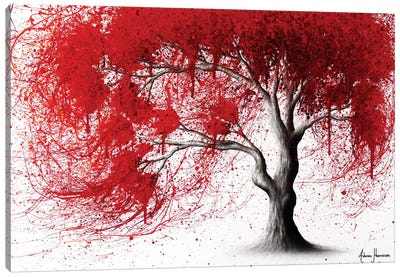 Western Iron Tree Canvas Art Print