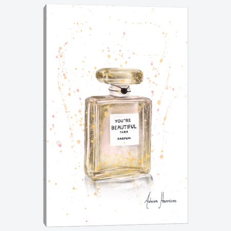 Beautiful Perfume Canvas Print #VIN319} by Ashvin Harrison Canvas Art Print