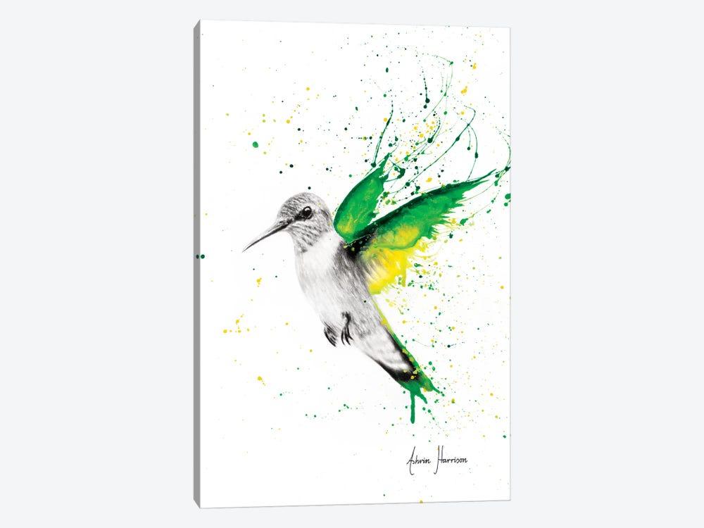 Bird of Emeralds by Ashvin Harrison 1-piece Canvas Wall Art