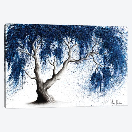 Blue Dream Tree Canvas Print #VIN321} by Ashvin Harrison Canvas Art