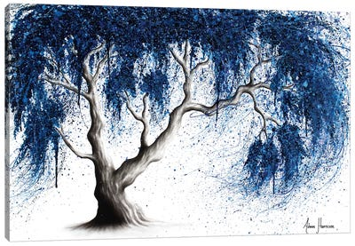 Blue Dream Tree Canvas Art Print