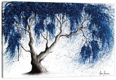 Blue Dream Tree Canvas Art Print