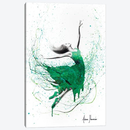 Healing Hills Dancer Canvas Print #VIN324} by Ashvin Harrison Canvas Art Print