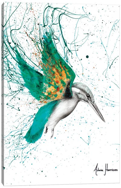 Kingfisher Skies Canvas Art Print
