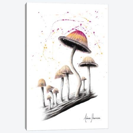 Mushroom Dance Canvas Print #VIN327} by Ashvin Harrison Canvas Print