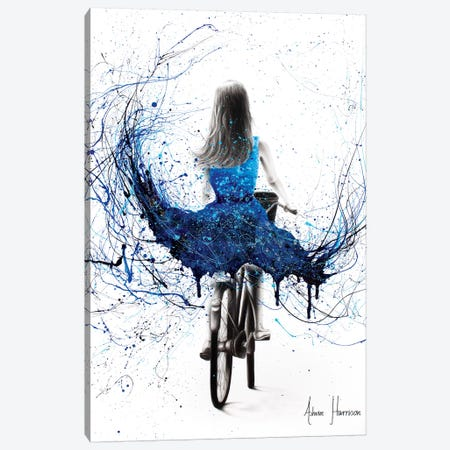 River Ride 3-Piece Canvas #VIN330} by Ashvin Harrison Canvas Print