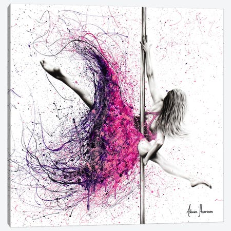 A Dance Expression Canvas Print #VIN334} by Ashvin Harrison Canvas Artwork