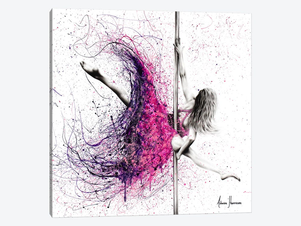 A Dance Expression by Ashvin Harrison 1-piece Canvas Print